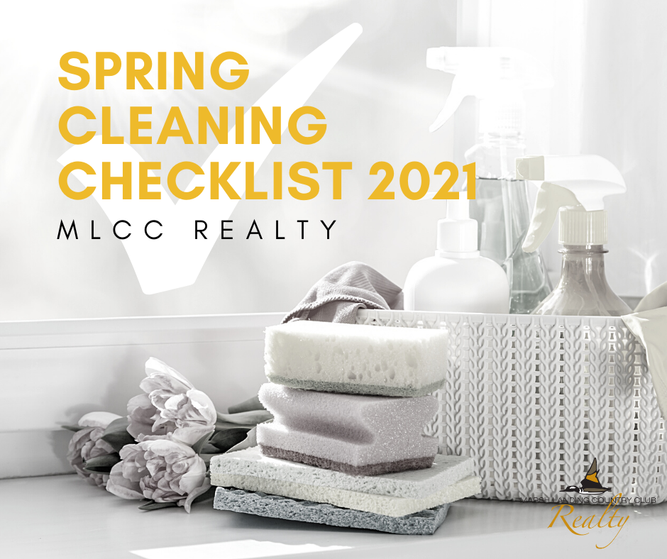 2021 Spring Cleaning Checklist