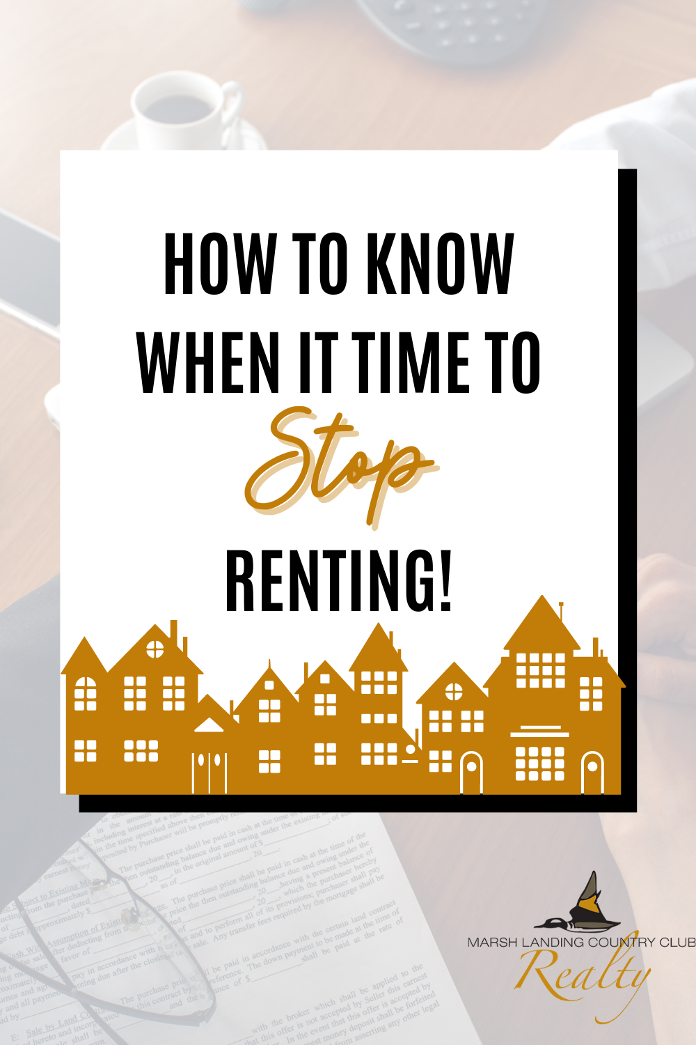 How to Know When It's Time to Stop Renting